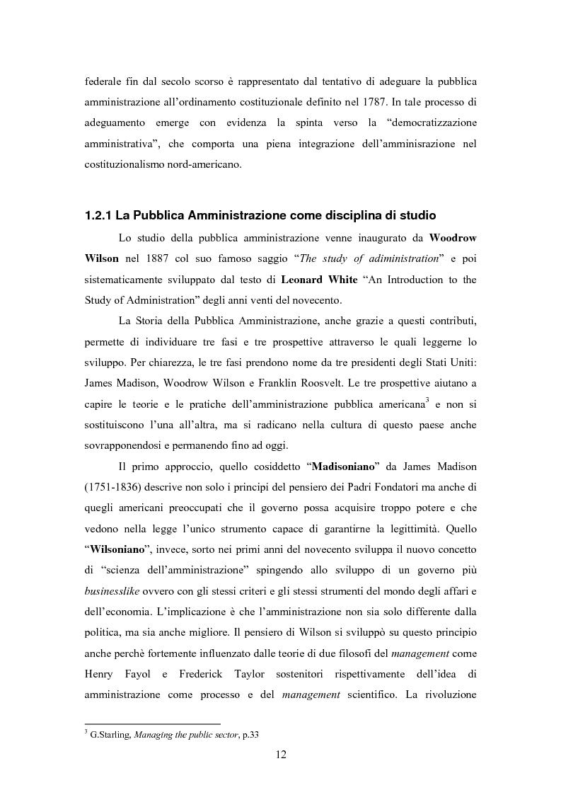 Anteprima della tesi: L'E-Government negli Stati Uniti d'America: dalla PA on line all'E-democracy, Pagina 11