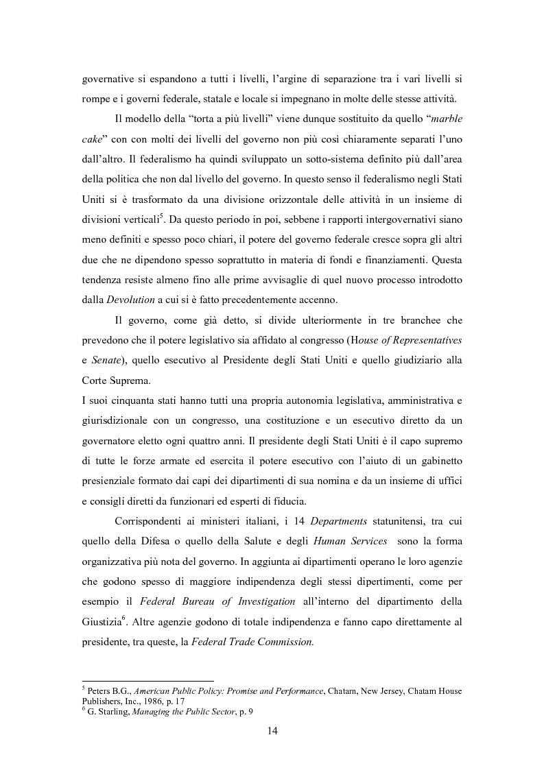 Anteprima della tesi: L'E-Government negli Stati Uniti d'America: dalla PA on line all'E-democracy, Pagina 13