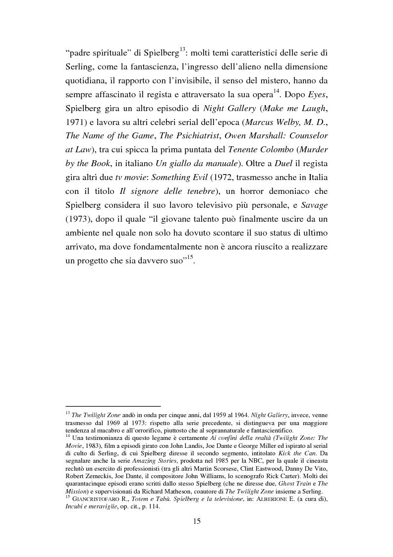 Anteprima della tesi: Viaggio alla fine del mondo: il cinema di Steven Spielberg nel terzo millennio, Pagina 11