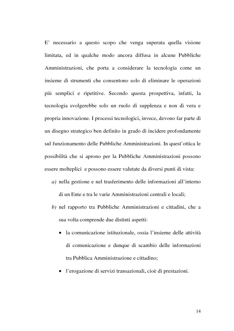 Anteprima della tesi: L'evoluzione della firma digitale: dal documento informatico all'amministrazione digitale, Pagina 12