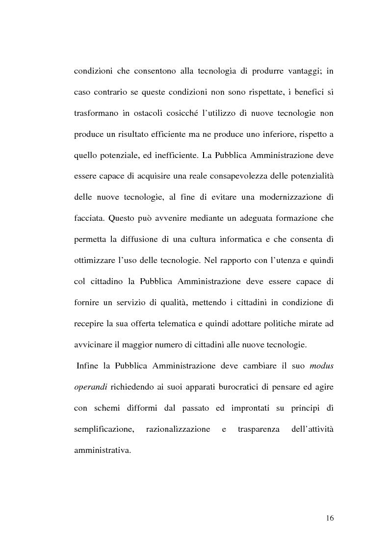 Anteprima della tesi: L'evoluzione della firma digitale: dal documento informatico all'amministrazione digitale, Pagina 14