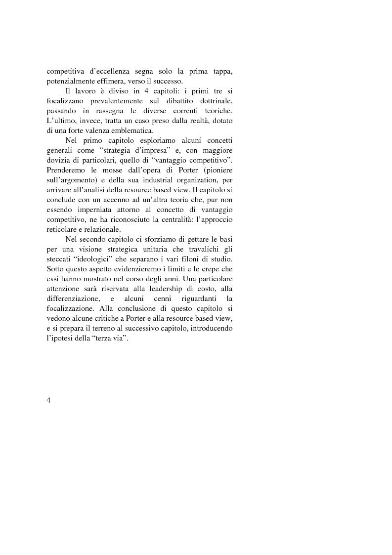 Anteprima della tesi: I vantaggi competitivi di successo: ''il caso Toyota'', Pagina 2