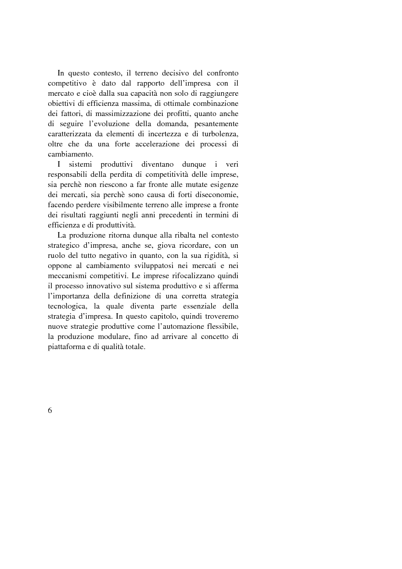 Anteprima della tesi: I vantaggi competitivi di successo: ''il caso Toyota'', Pagina 4