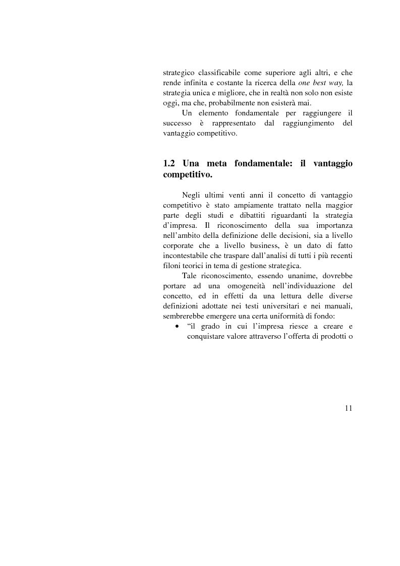 Anteprima della tesi: I vantaggi competitivi di successo: ''il caso Toyota'', Pagina 9