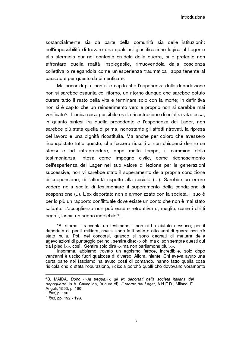 Anteprima della tesi: Il reinserimento dei perseguitati razziali nel secondo dopoguerra. L'itinerario della legge n. 96 del 10 marzo 1955, Pagina 3