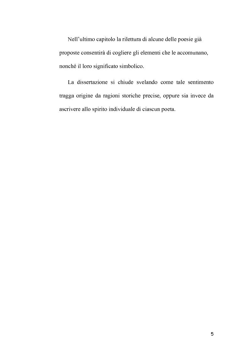 Anteprima della tesi: L'Immagine dell'Italia nella poesia ungherese del primo Novecento, Pagina 5