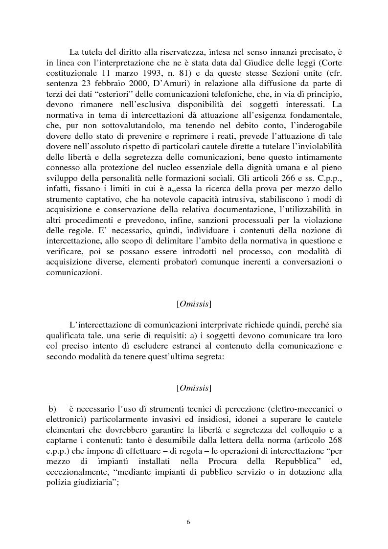 Anteprima della tesi: Sezioni unite Torcasio un'altra vittoria del giusto processo, Pagina 3