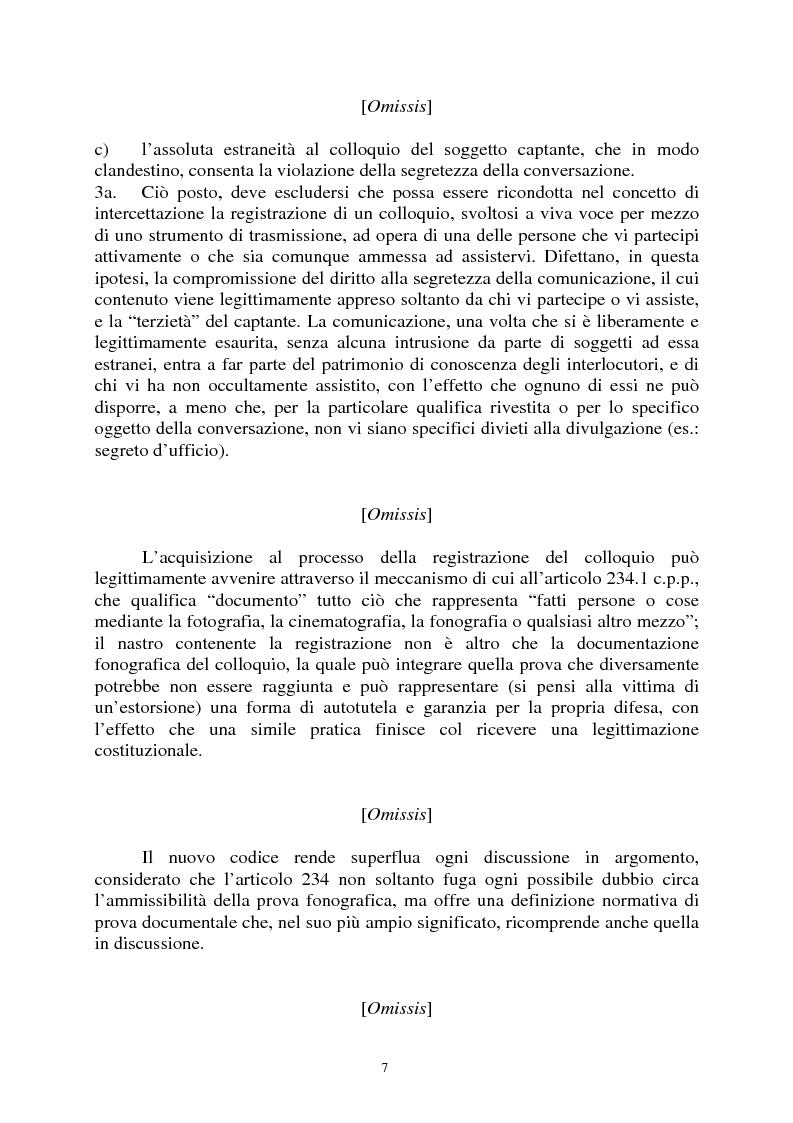 Anteprima della tesi: Sezioni unite Torcasio un'altra vittoria del giusto processo, Pagina 4