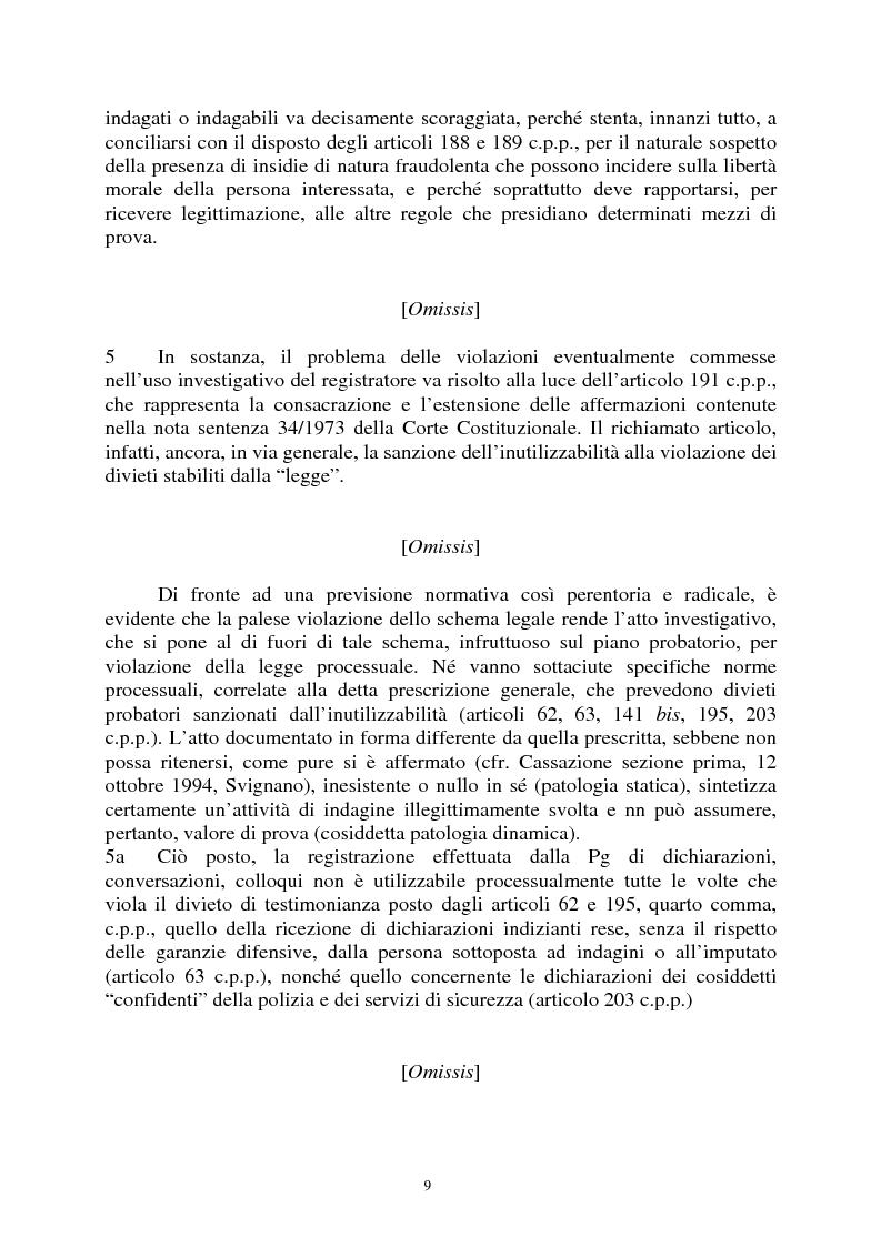 Anteprima della tesi: Sezioni unite Torcasio un'altra vittoria del giusto processo, Pagina 6