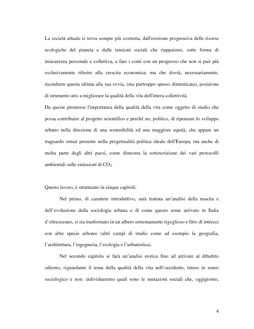 Anteprima della tesi: Urbanistica e qualità della vita, Pagina 2