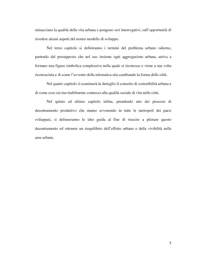 Anteprima della tesi: Urbanistica e qualità della vita, Pagina 3