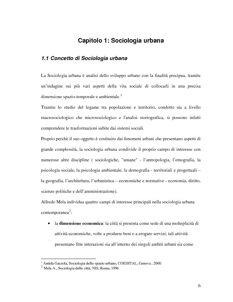Anteprima della tesi: Urbanistica e qualità della vita, Pagina 4