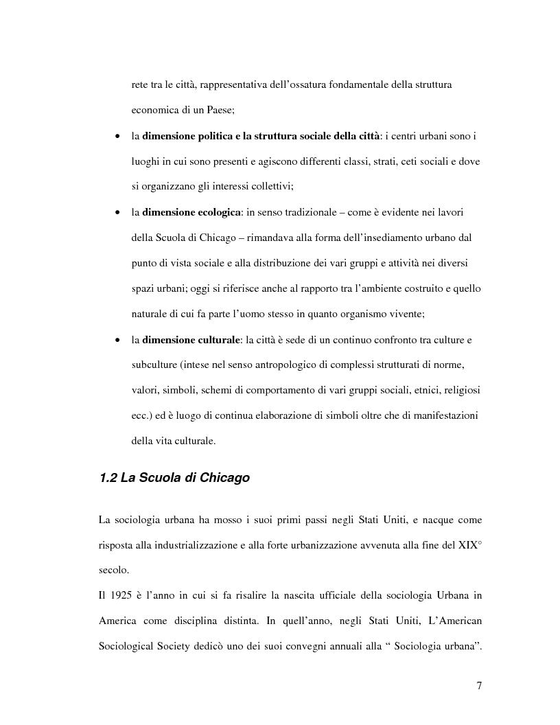 Anteprima della tesi: Urbanistica e qualità della vita, Pagina 5