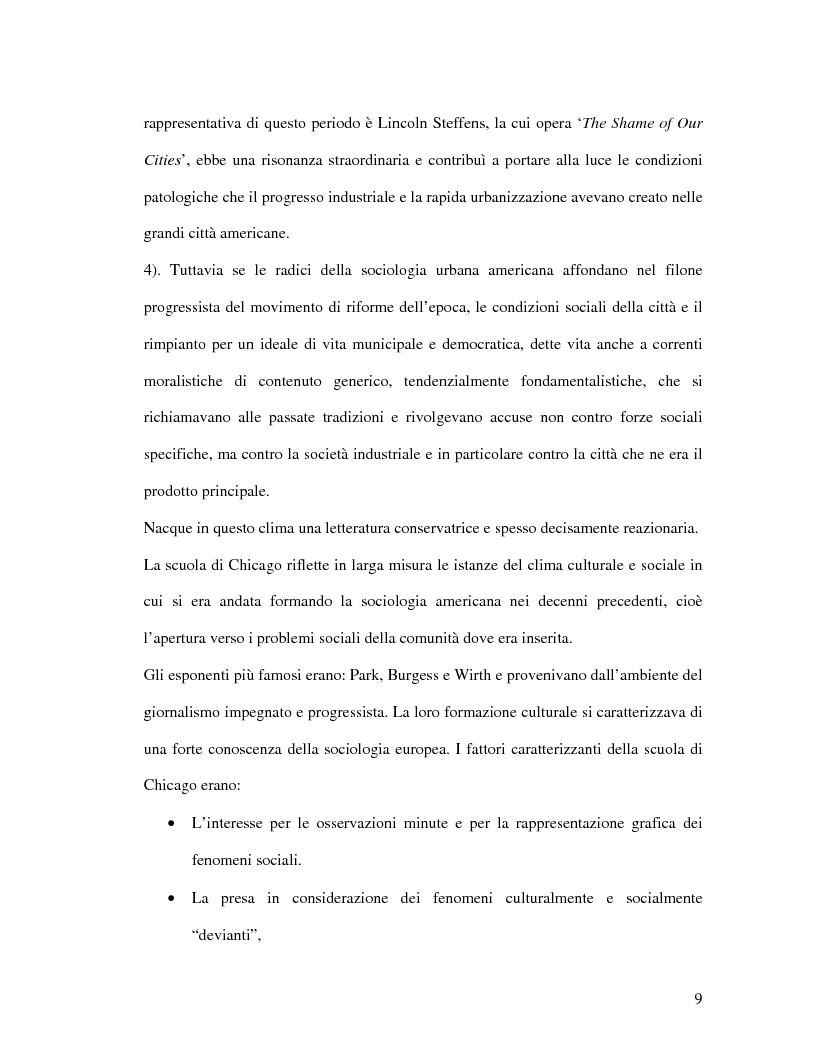 Anteprima della tesi: Urbanistica e qualità della vita, Pagina 7