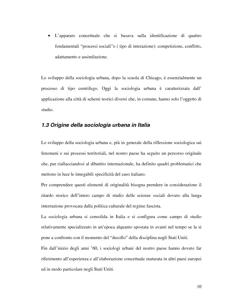Anteprima della tesi: Urbanistica e qualità della vita, Pagina 8