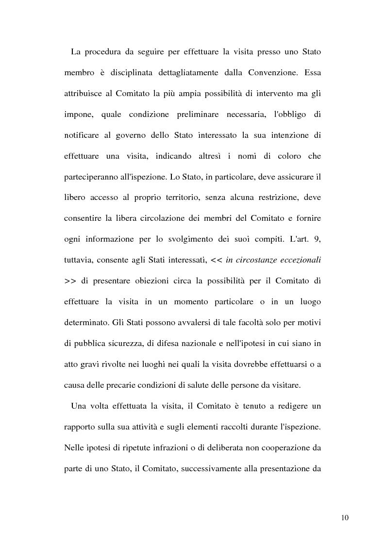 Anteprima della tesi: Tortura e Punizioni o Trattamenti crudeli, inumani e degradanti, Pagina 10