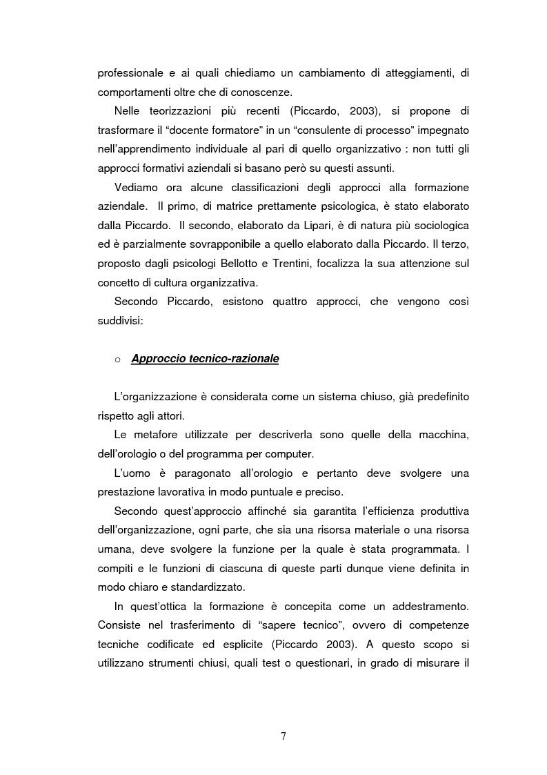 Anteprima della tesi: Le nuove strategie formative nella pubblica amministrazione, Pagina 5
