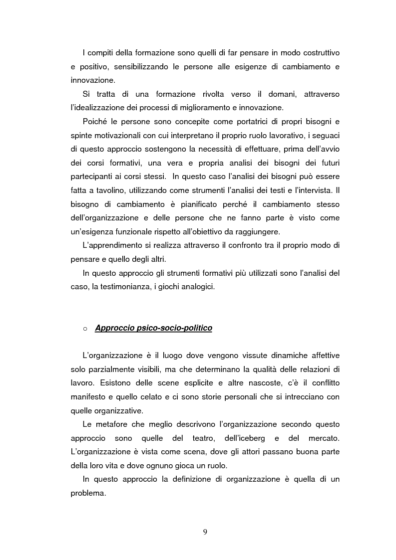 Anteprima della tesi: Le nuove strategie formative nella pubblica amministrazione, Pagina 7