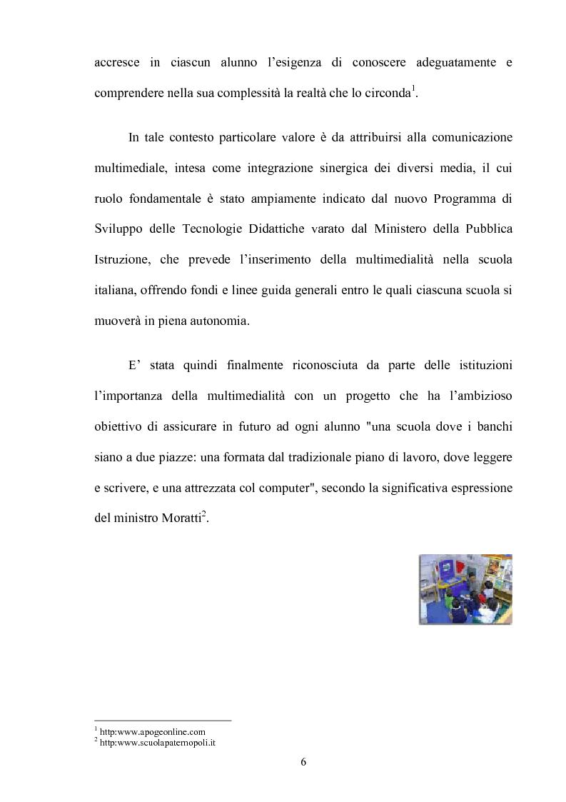 Anteprima della tesi: L'insegnamento multimediale delle lingue nelle scuole elementari, Pagina 3