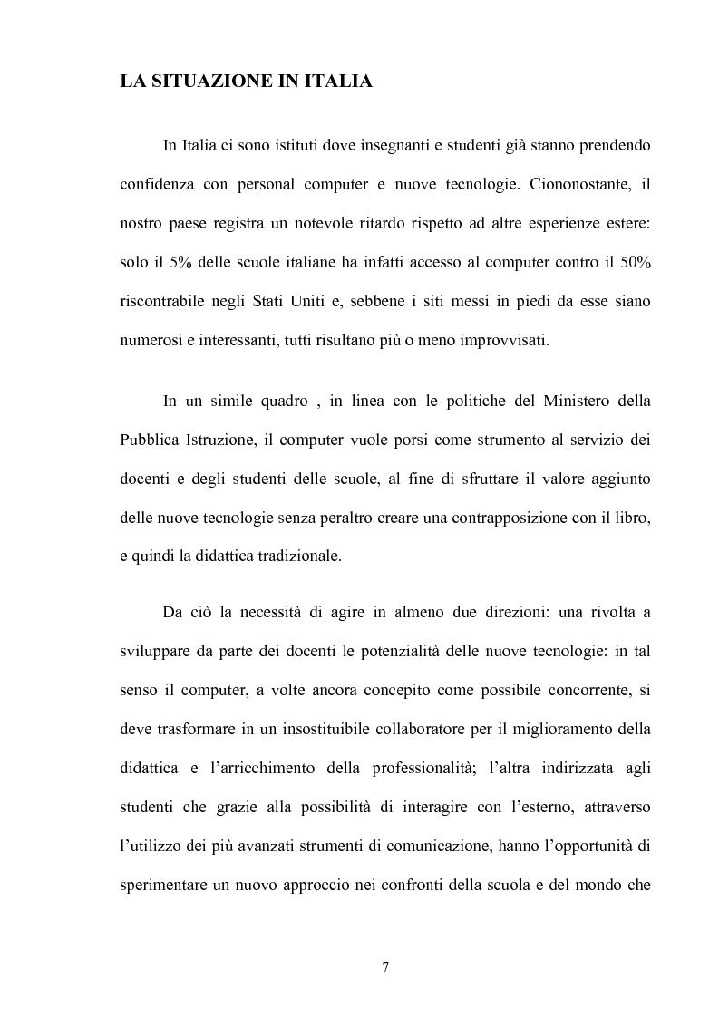 Anteprima della tesi: L'insegnamento multimediale delle lingue nelle scuole elementari, Pagina 4
