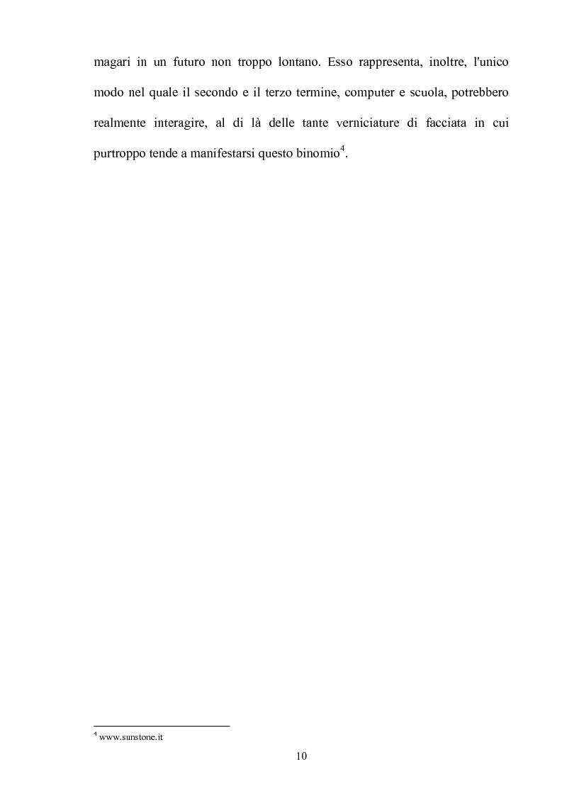 Anteprima della tesi: L'insegnamento multimediale delle lingue nelle scuole elementari, Pagina 7
