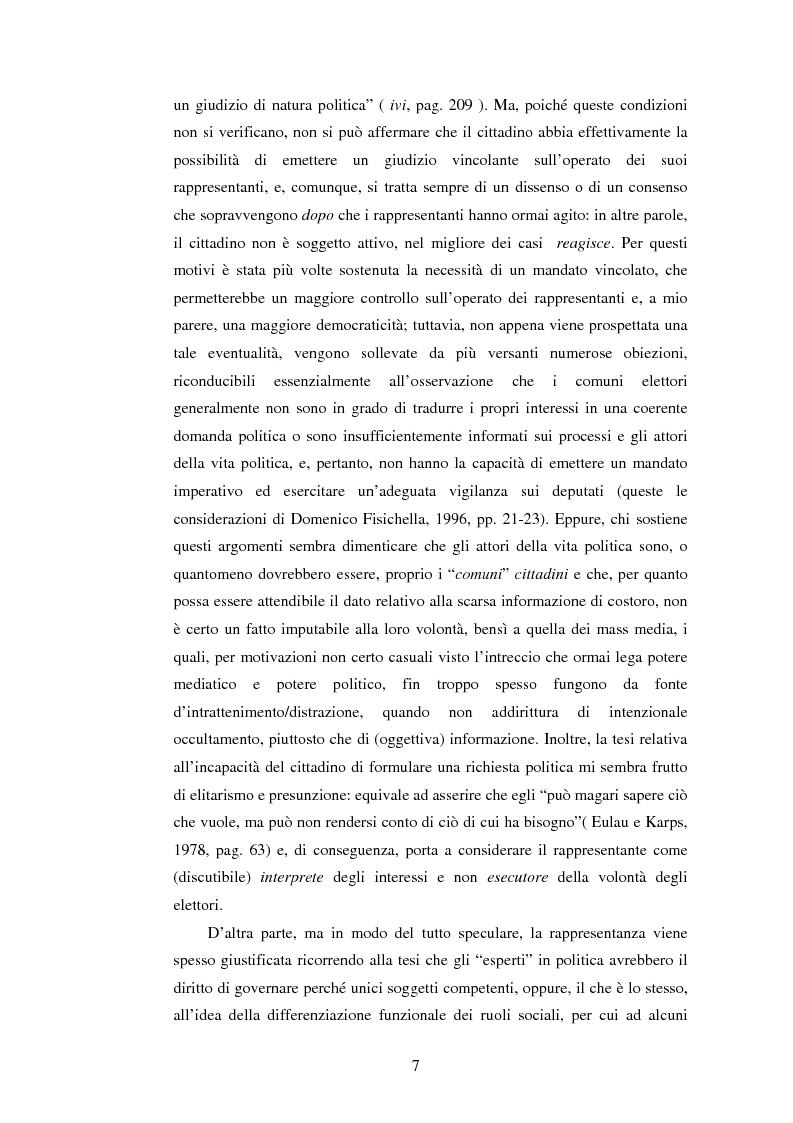 Anteprima della tesi: Per una democrazia radicale: da metodo a ideale normativo, Pagina 6