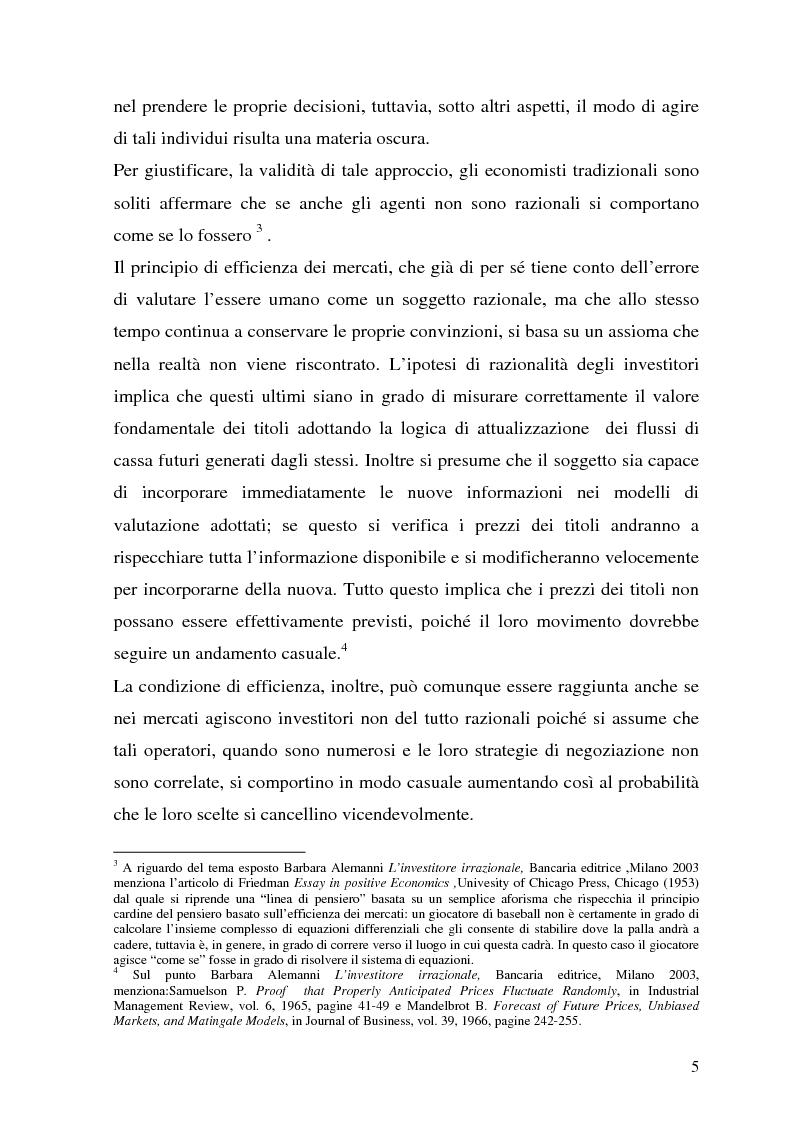 Anteprima della tesi: La tutela del cliente dopo i recenti scandali finanziari, Pagina 5
