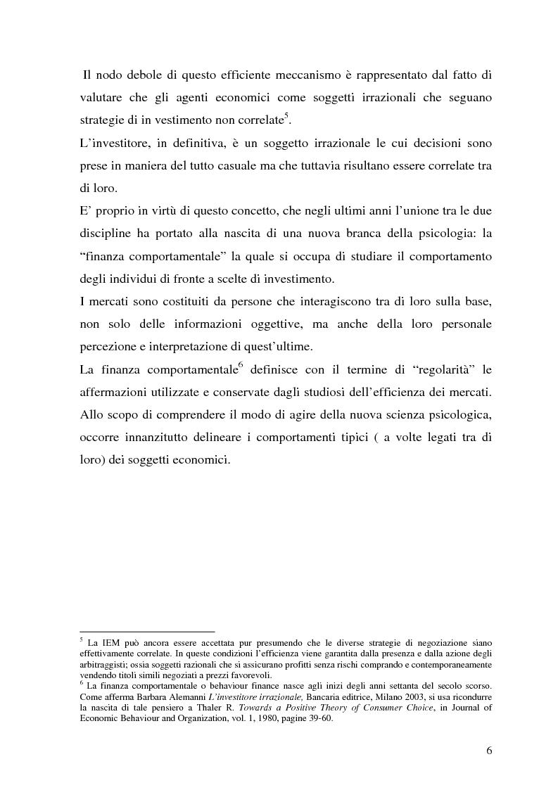 Anteprima della tesi: La tutela del cliente dopo i recenti scandali finanziari, Pagina 6