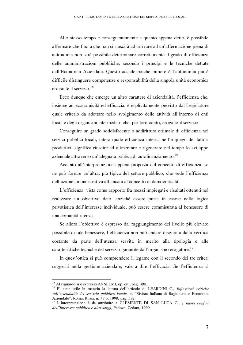 Anteprima della tesi: Le rilevazioni di costo nelle aziende di igiene urbana. Il caso Quadrifoglio S.p.A., Pagina 10