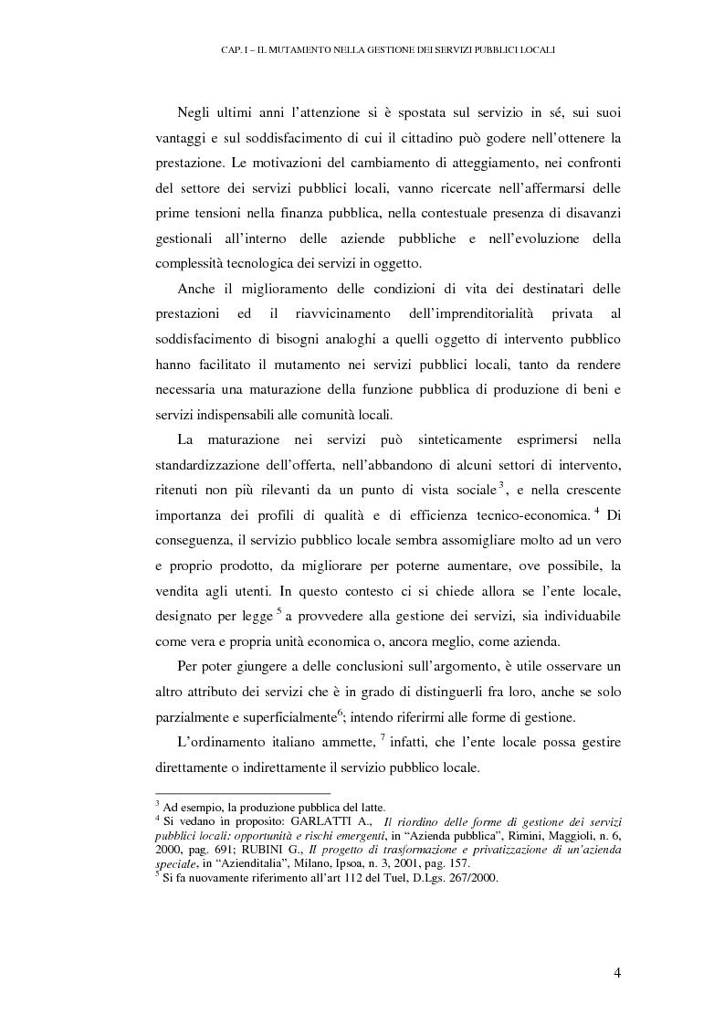 Anteprima della tesi: Le rilevazioni di costo nelle aziende di igiene urbana. Il caso Quadrifoglio S.p.A., Pagina 7