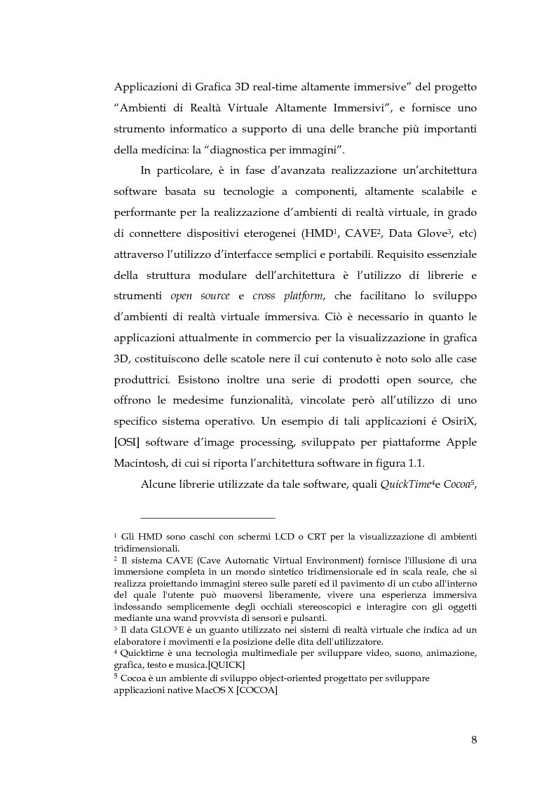 Anteprima della tesi: Realizzazione di un componente software per la segmentazione di immagini in un ambiente per il Medical Imaging, Pagina 2