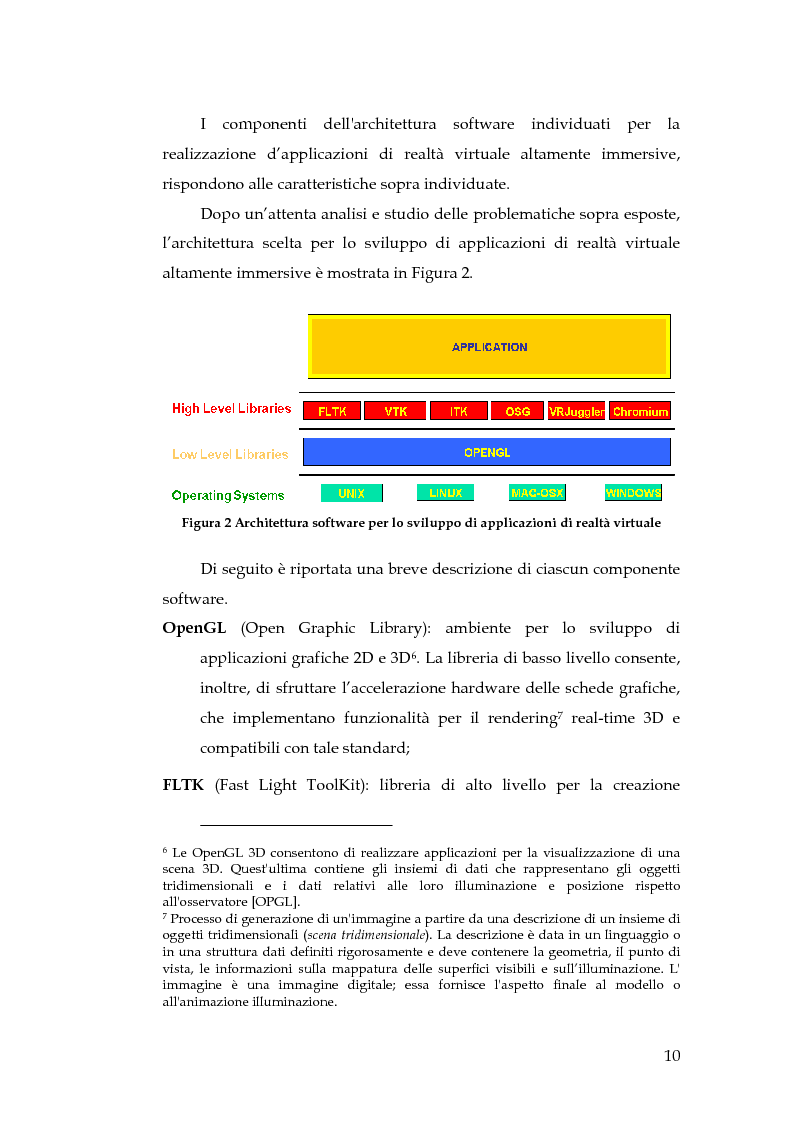 Anteprima della tesi: Realizzazione di un componente software per la segmentazione di immagini in un ambiente per il Medical Imaging, Pagina 4