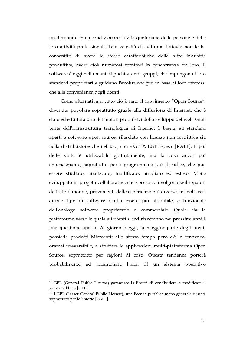 Anteprima della tesi: Realizzazione di un componente software per la segmentazione di immagini in un ambiente per il Medical Imaging, Pagina 9