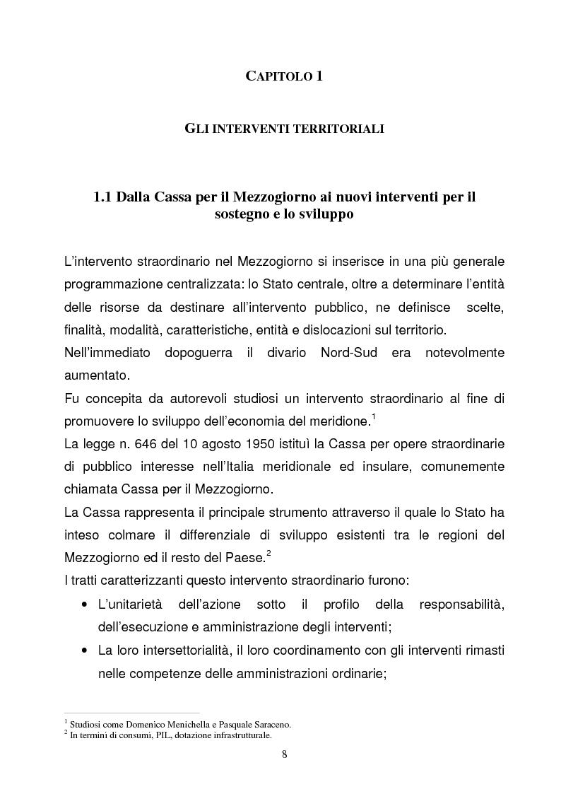 Anteprima della tesi: La Programmazione Territoriale: il caso del Cilento, Pagina 6