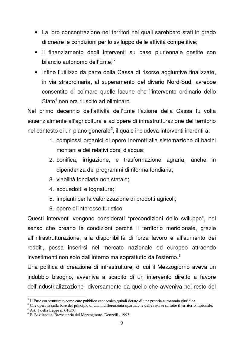 Anteprima della tesi: La Programmazione Territoriale: il caso del Cilento, Pagina 7