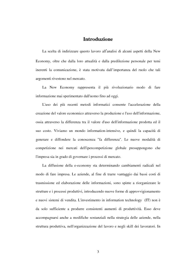 Anteprima della tesi: Ict: Misure e definizioni statistiche, Pagina 1