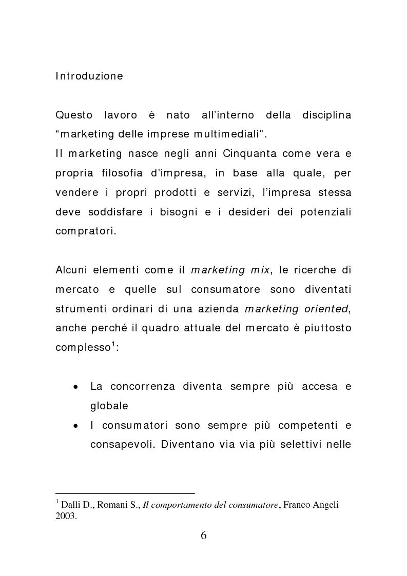 Anteprima della tesi: Ciak: il prodotto va in scena. Potenzialità e limiti del product placement, Pagina 1