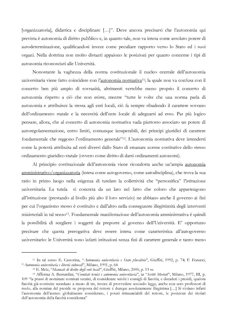 Anteprima della tesi: L'autonomia finanziaria e contabile delle Università. Un caso pratico: il Politecnico di Milano, Pagina 10