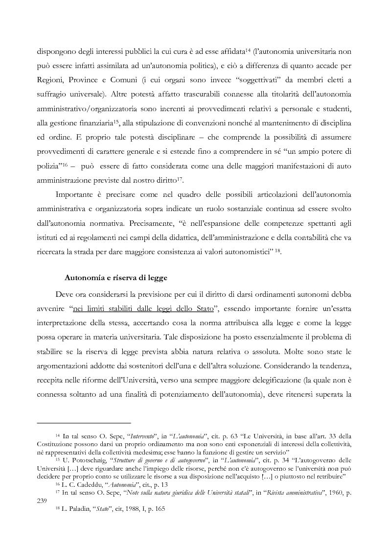 Anteprima della tesi: L'autonomia finanziaria e contabile delle Università. Un caso pratico: il Politecnico di Milano, Pagina 11