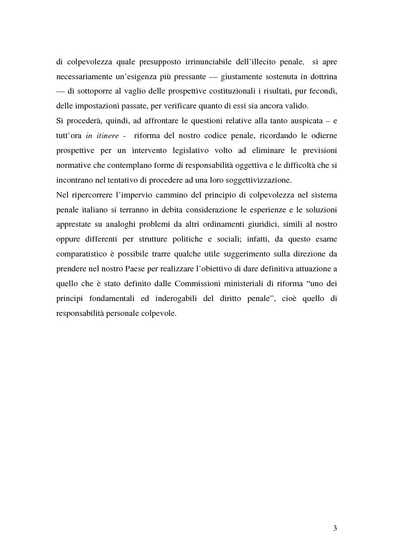 Anteprima della tesi: I delitti aggravati dall'evento, Pagina 3