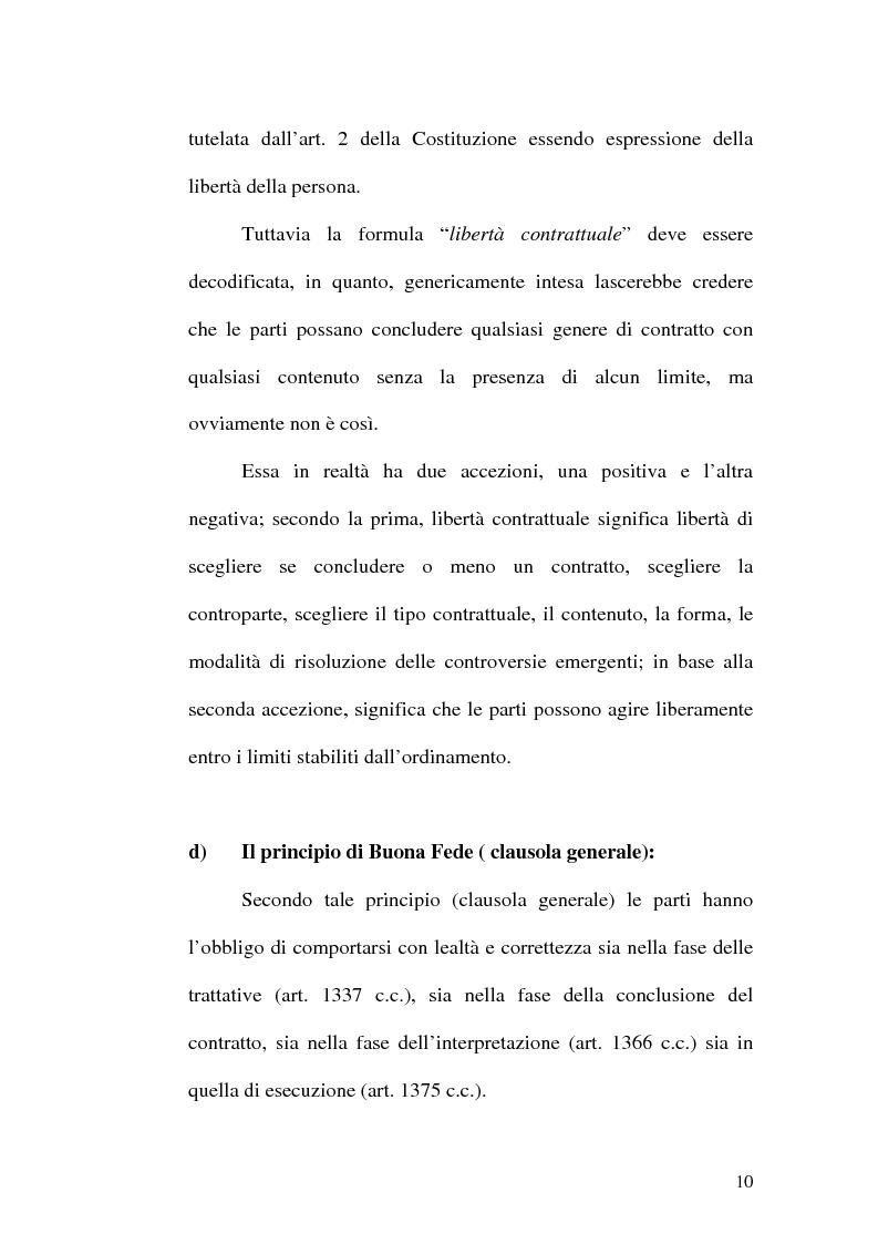 Anteprima della tesi: Equilibrio tra le prestazioni e giustizia nel contratto - Riflessioni intorno all'art. 7 del D.lgs. n. 231 del 2002, Pagina 7