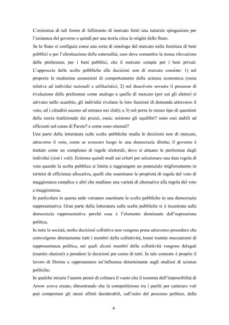 Anteprima della tesi: La teoria delle scelte collettive, Pagina 2