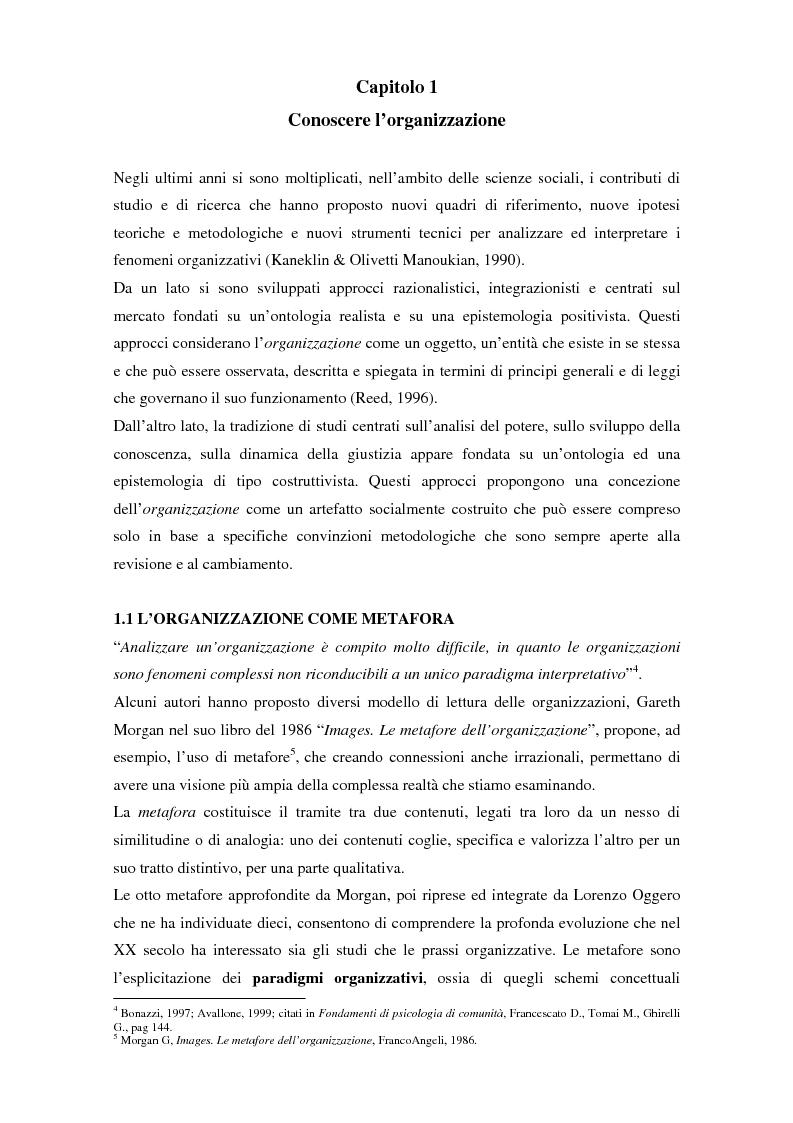 Anteprima della tesi: Comunicazione, cultura e identità di un'organizzazione. Il caso Tim., Pagina 5