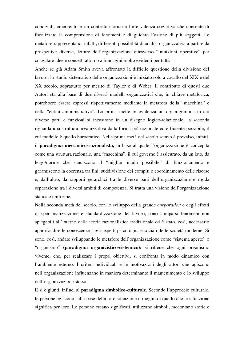 Anteprima della tesi: Comunicazione, cultura e identità di un'organizzazione. Il caso Tim., Pagina 6