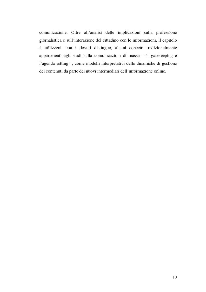 Anteprima della tesi: Modelli e geometrie dei contenuti della rete, Pagina 5