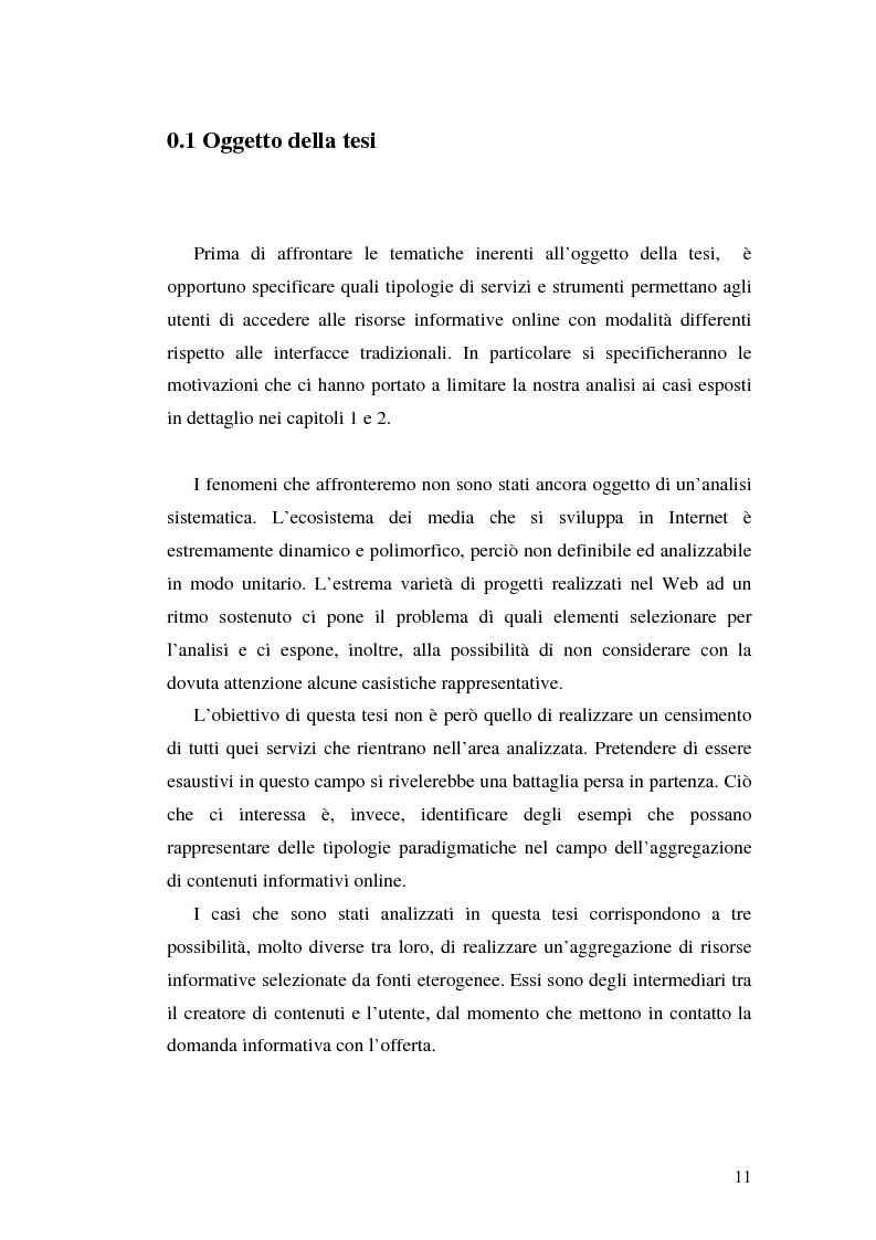 Anteprima della tesi: Modelli e geometrie dei contenuti della rete, Pagina 6