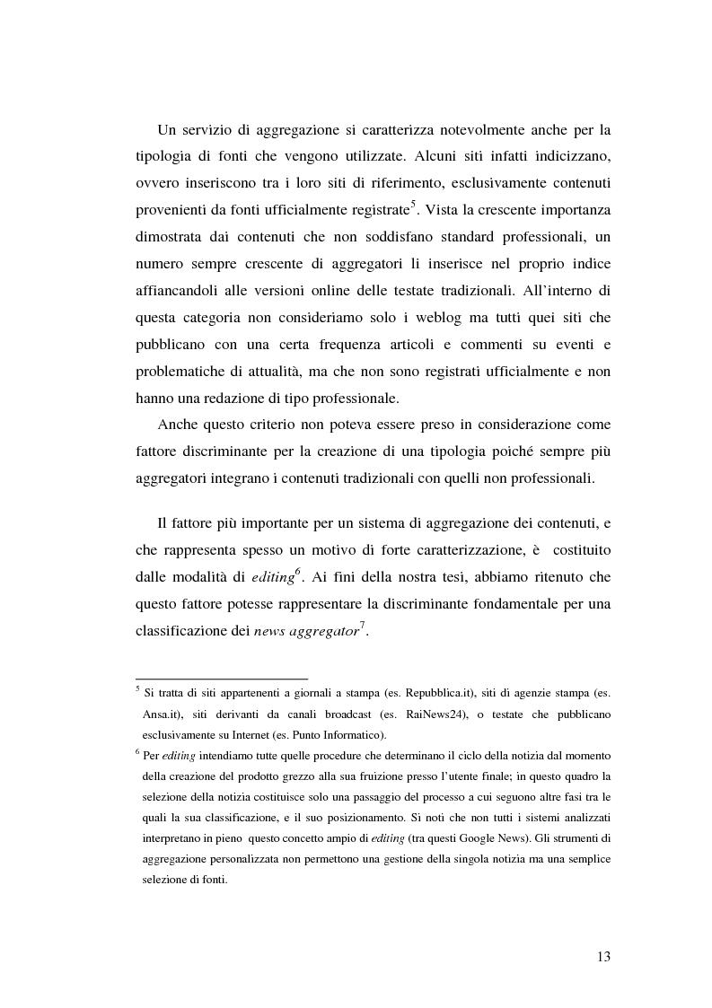 Anteprima della tesi: Modelli e geometrie dei contenuti della rete, Pagina 8
