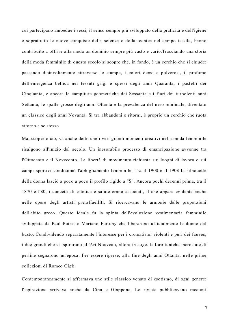 Anteprima della tesi: Le politiche di marketing nel settore moda, Pagina 4