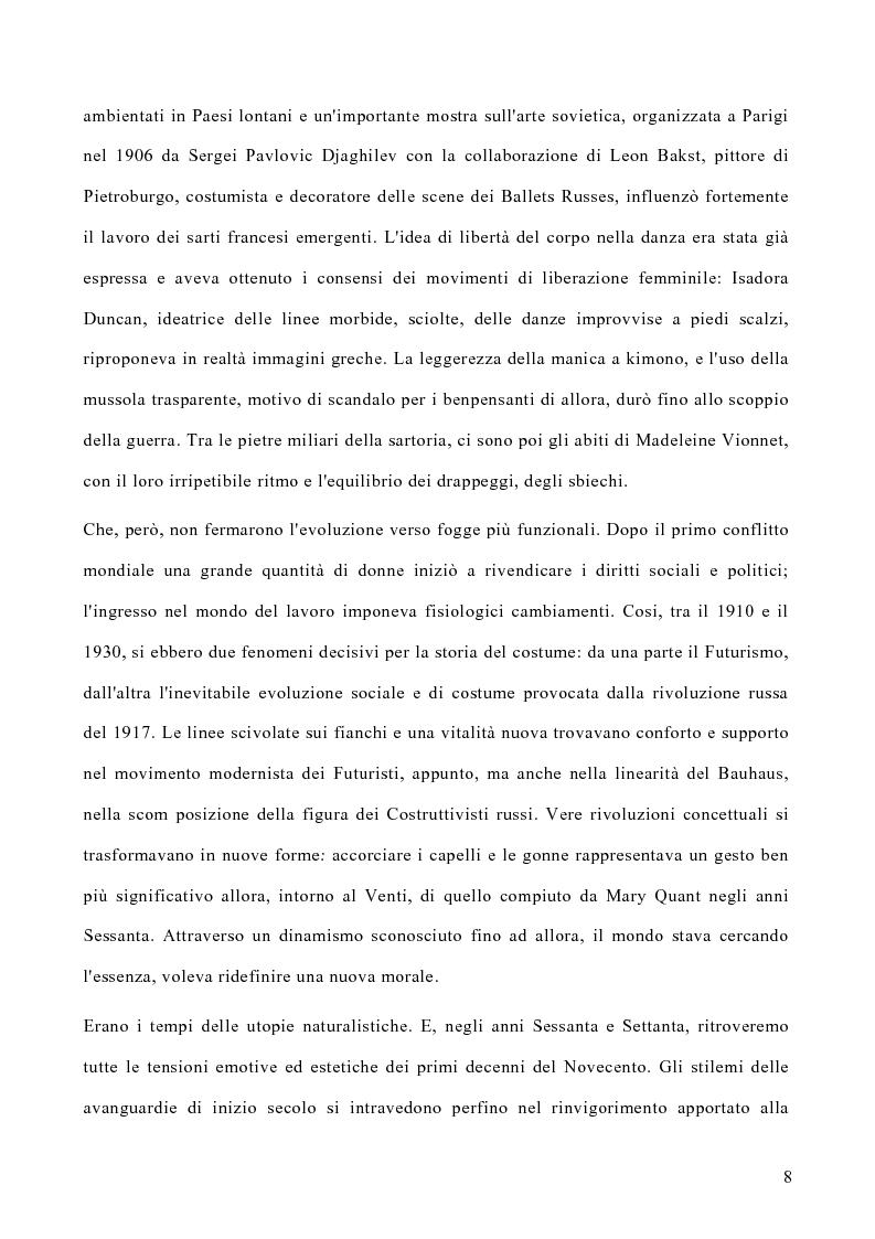 Anteprima della tesi: Le politiche di marketing nel settore moda, Pagina 5