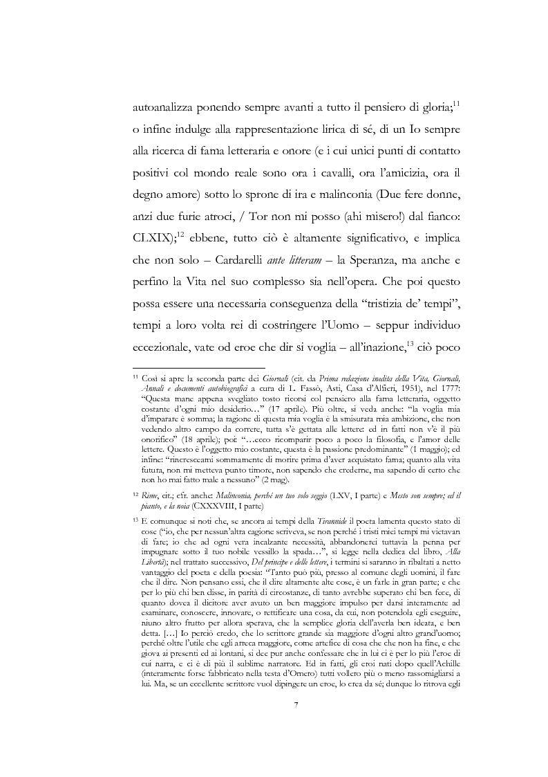 """Anteprima della tesi: """"Nel fango i vili intanto al suol conficco"""" - Vittorio Alfieri fra politica e letteratura, Pagina 7"""